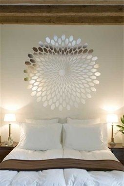 Reflective Wall Decals Mirror Wall Stickers Shiny Wall Decals - Wall decals mirror
