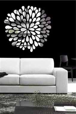 Wall Decals  Reflective Pom Pom