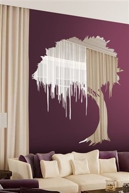 Wall Decals Reflective Mystical Tree