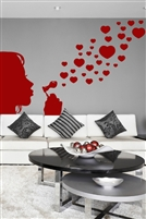 Wall Decals  Love Bubbles