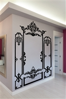 Wall Decals  Baroque Molding