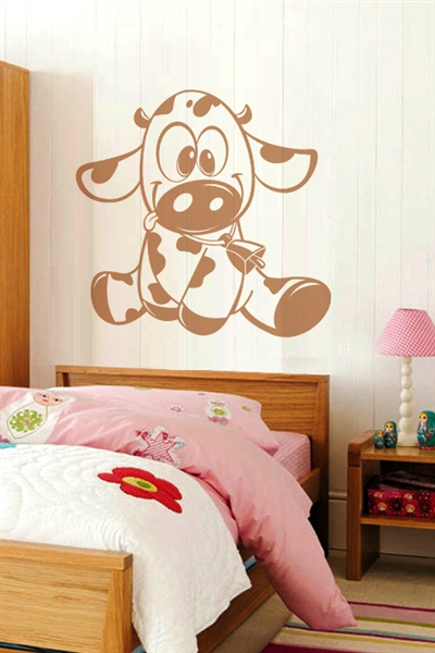 Baby Wall Decals -Baby Cow