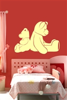 Nursery Wall Decals -Bears Back to Back