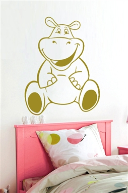Baby Wall Decals -Hippo