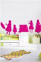 Kids Wall Decals -Her Clothes