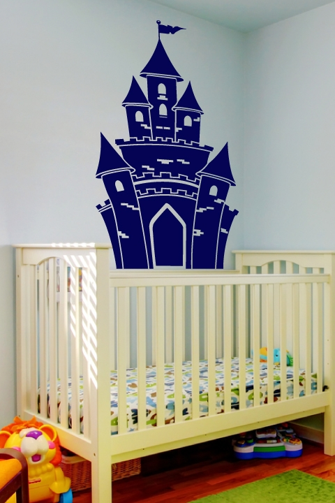 Kids Wall Decals -Princeu0027s Castle