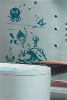 Kids Wall Decals -Snorkel Friends