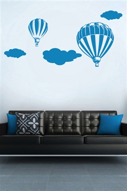 Baby Wall Decals -Hot Air Balloon