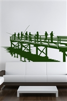 Wall Decals  Fishing From The Dock
