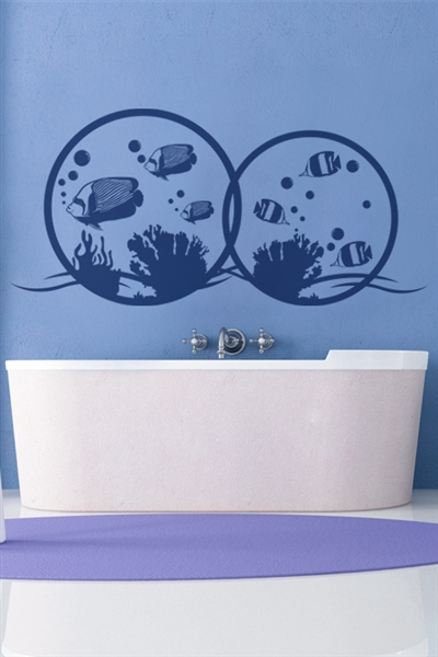 Wall Decals  Aquarium Bubbles