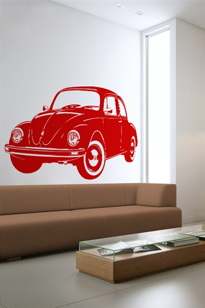 Wall Decals  VW Bug Side
