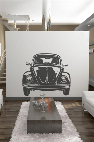 Wall Decals  VW Bug Front