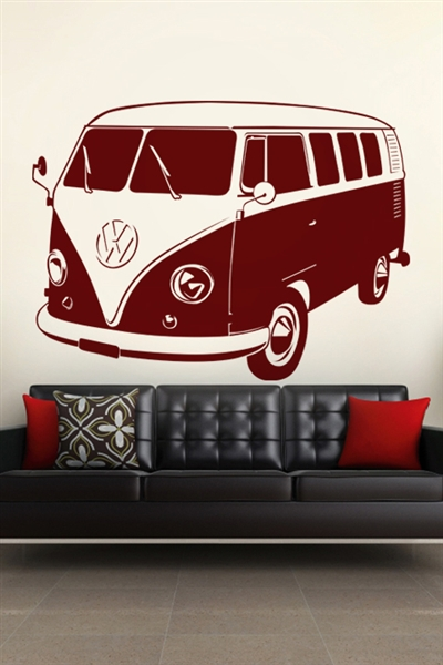 Wall Decals  VW Bus
