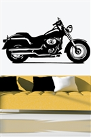 Wall Decals  - Motorcycle