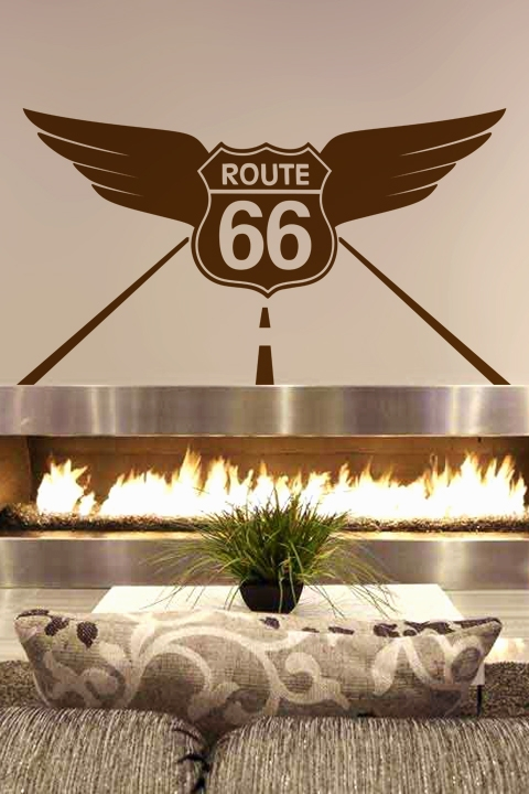 wall decals route 66- walltat art without boundaries