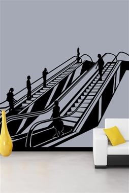 Wall Decals  Escalator