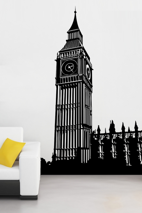 Wall Decals Big Ben Part 28