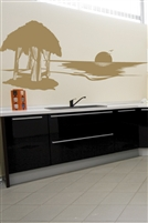 Wall Decals  Beach Cabanna
