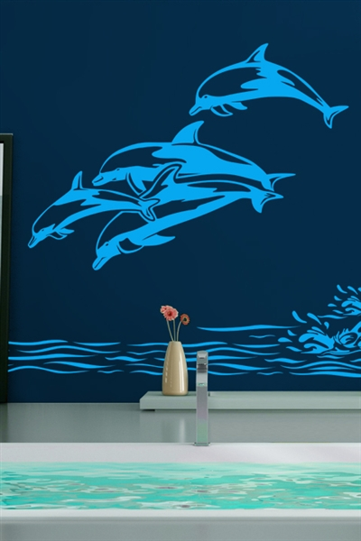 Wall Decals  Dolphins