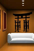 Wall Decals  Japanese Waterway