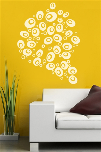 Wall Decals  Stylish Bubbles