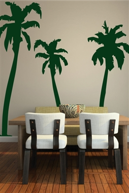 Wall Decals  Palm Tree 3