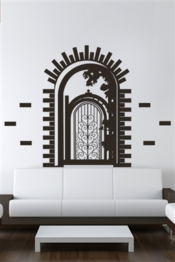 Wall Decals  Garden Entry
