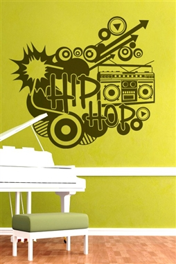 Wall Decals  Hip Hop 1