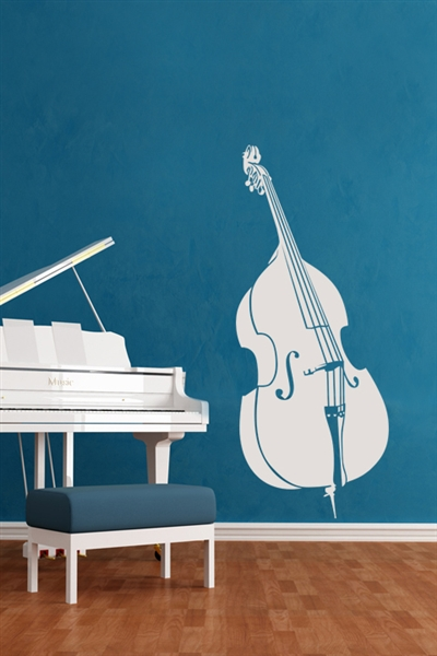 Wall Decals  Stand Up Bass