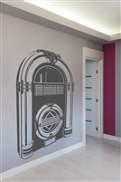 Wall Decals  Juke Box Monochrome