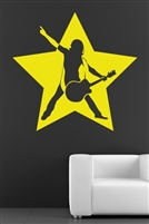 Wall Decals  Rock Star Abstract