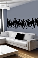 Wall Decals  Concert Crowd
