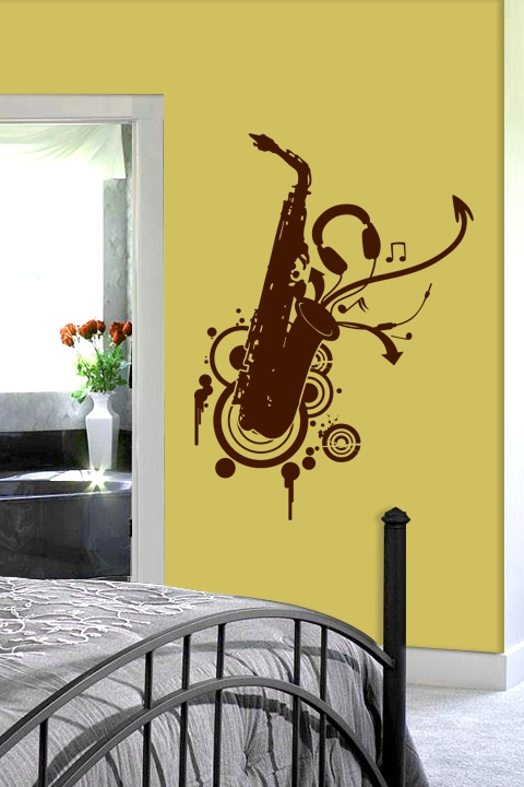 Jazz Direction Wall Decal | Music Decals | WALLTAT