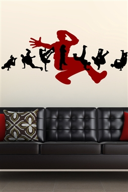 Wall Decals  Break Dance 1