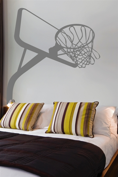Wall Decals  Basketball Hoop