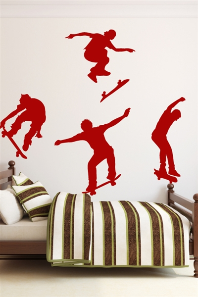 Wall Decals  Skateboarder