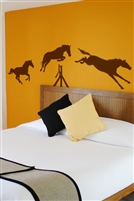 Wall Decals  Jumping Horses