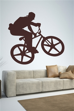 Wall Decals  Freestyle Biking