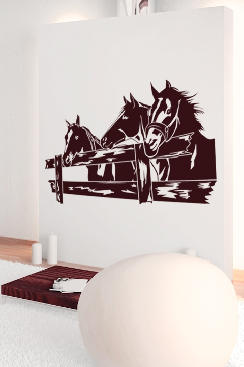 Wall Decals Horse Corral WALLTATcom Art Without Boundaries - Wall decals horses