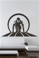 Wall Decals Track Runner