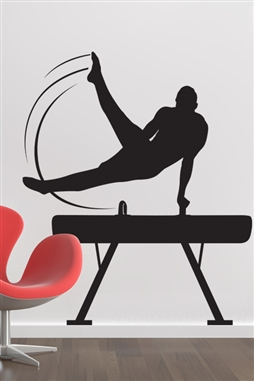 Wall Decals  Pommel Horse
