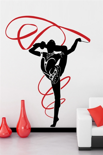 Wall Decals  Rhythm Gymnastics