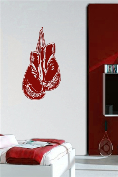 Wall Decals Boxing Gloves