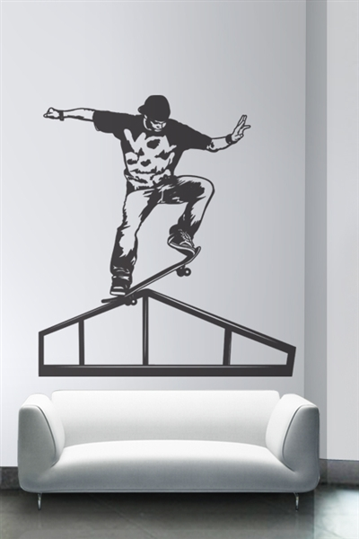 Wall Decals  Skating