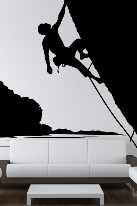 Rock Climbing Wall Decals WALLTATcom Art Without Boundaries - Wall decals art