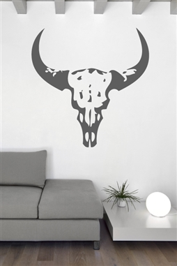Wall Decals  Cow Head