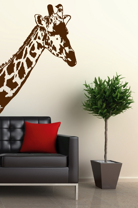 wall decals giraffe- walltat art without boundaries