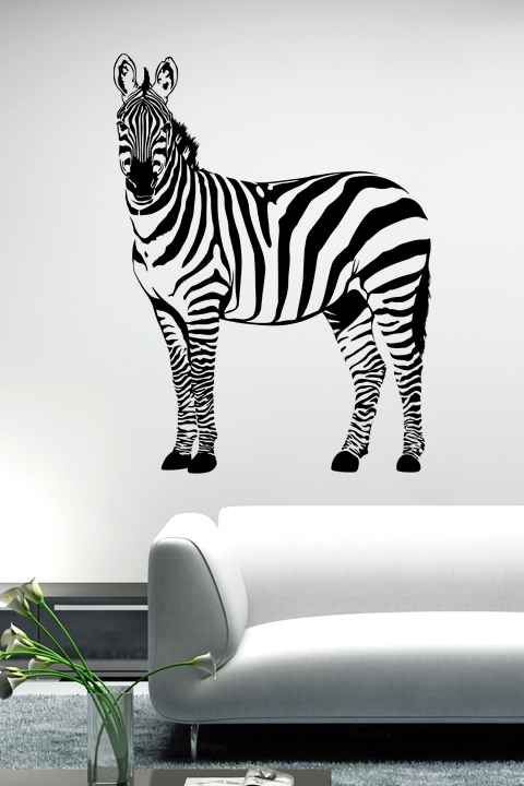 Wonderful Wall Decals Zebra Part 15