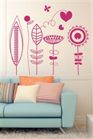 Wall Decals  Daydream Flowers