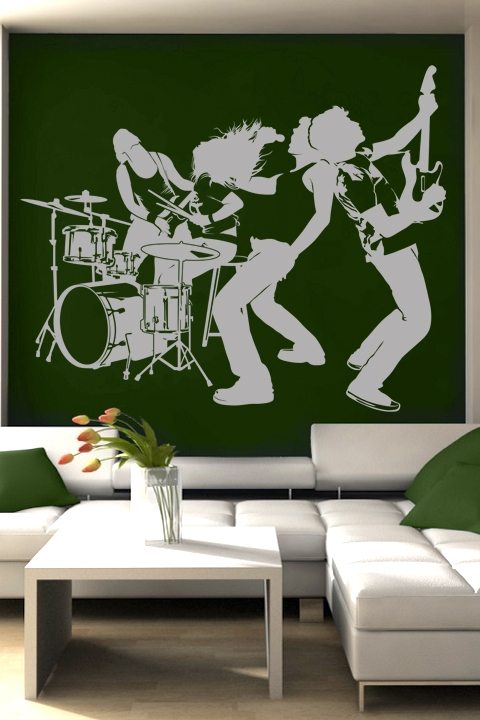 Wall Decals Music Group WALLTATcom Art Without Boundaries - Wall decals art